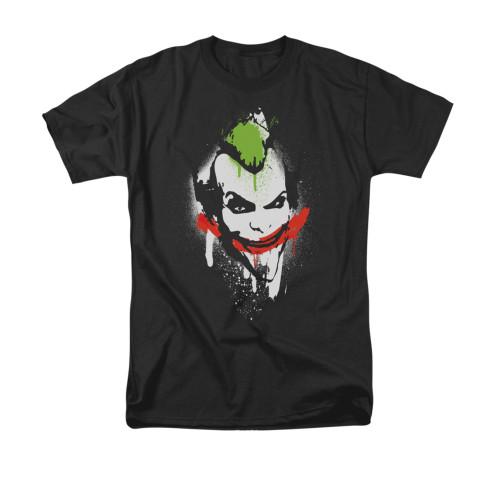 Image for Arkham City T-Shirt - Spraypaint Smile