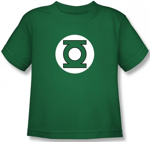 Image for Green Lantern Logo Kid's T-Shirt