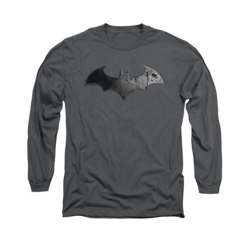 Image for Arkham City Long Sleeve Shirt - Bat Logo