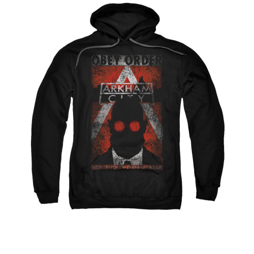 Image for Arkham City Hoodie - Obey Order Poster