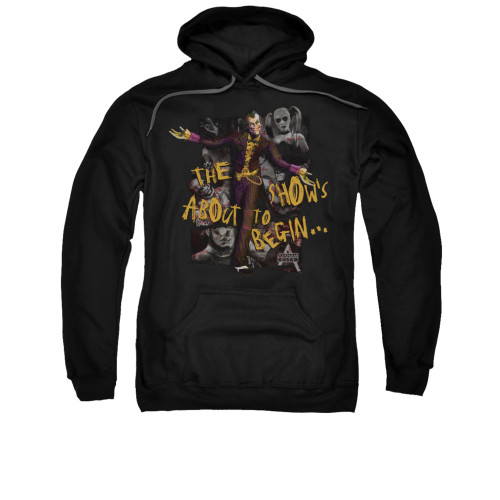 Image for Arkham City Hoodie - About To Begin
