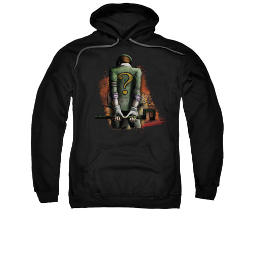Image for Arkham City Hoodie - Riddler Convicted