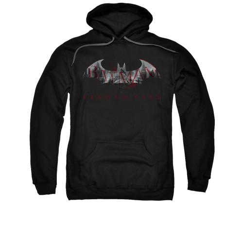 Image for Arkham City Hoodie - Bat Fill