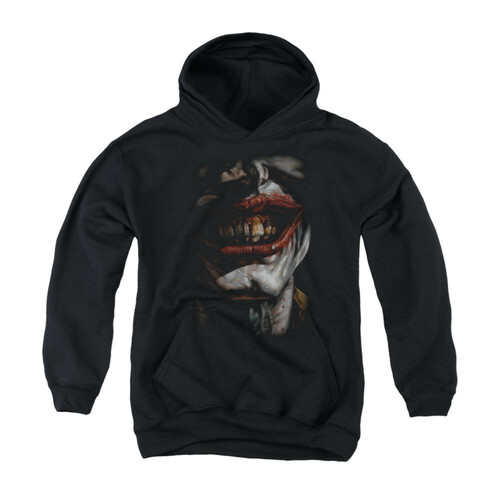 Image for Batman Youth Hoodie - Smile Of Evil