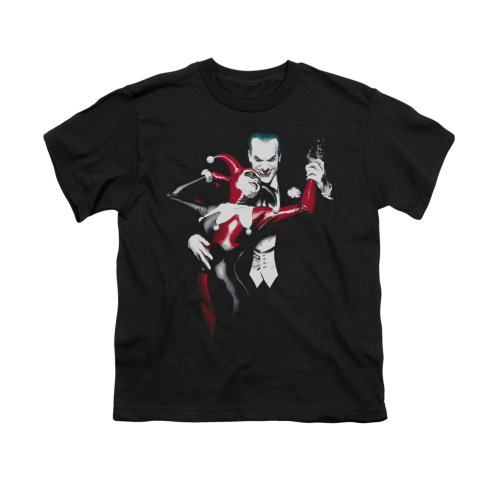 Image for Batman Youth T-Shirt - Harley And Joker