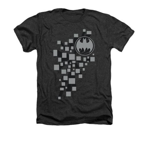 Image for Batman Heather T-Shirt - Gotham 3d