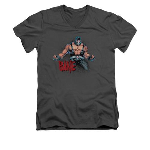 Image for Batman V Neck T-Shirt - Bane Flex