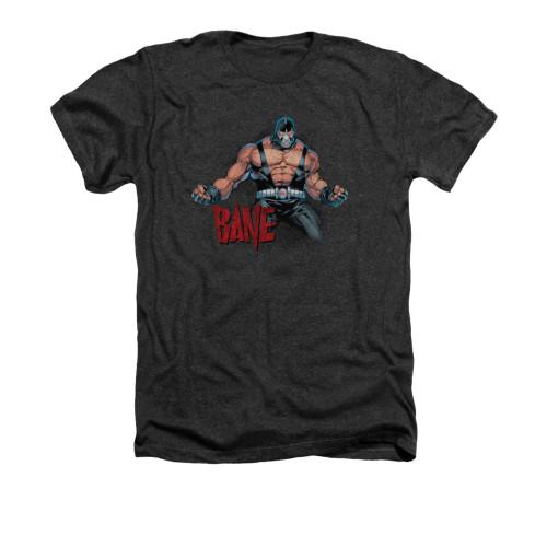 Image for Batman Heather T-Shirt - Bane Flex