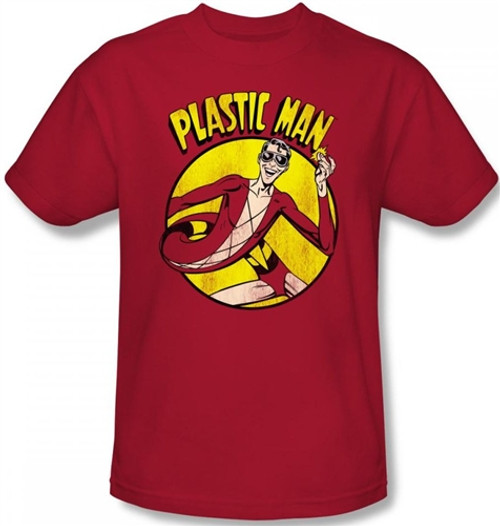 Image Closeup for Plastic Man T-Shirt