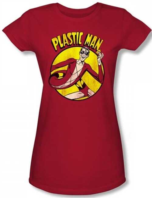 Image for Plastic Man Girls Shirt