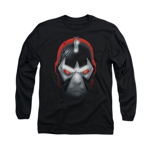 Image for Batman Long Sleeve Shirt - Bane Head