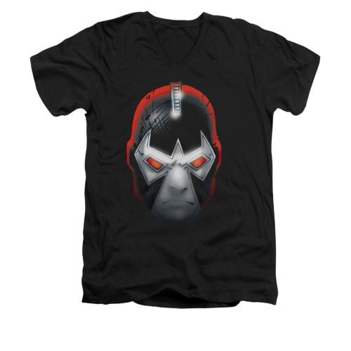 Image for Batman V Neck T-Shirt - Bane Head