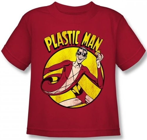 Image for Plastic Man Kid's T-Shirt