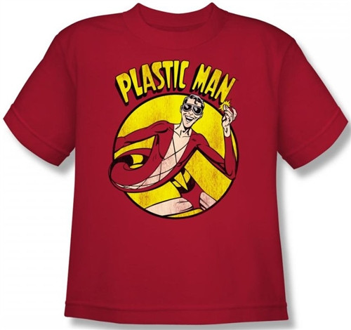 Image for Plastic Man Youth T-Shirt