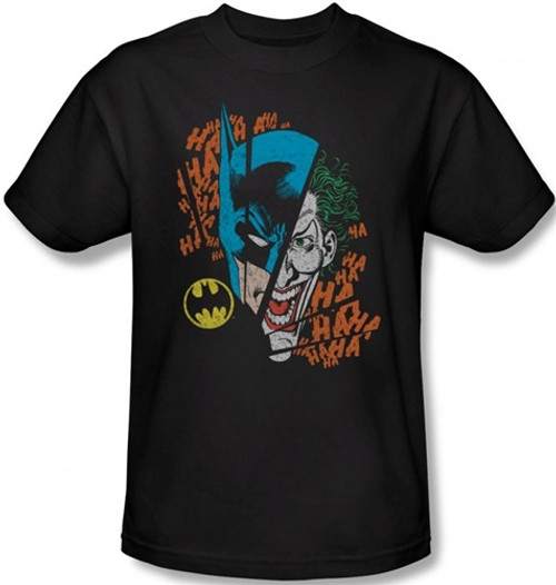 Image Closeup for Batman T-Shirt - Broken Visage