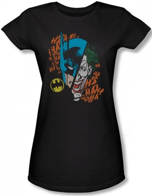 Image for Batman Girls T-Shirt - Broken Visage