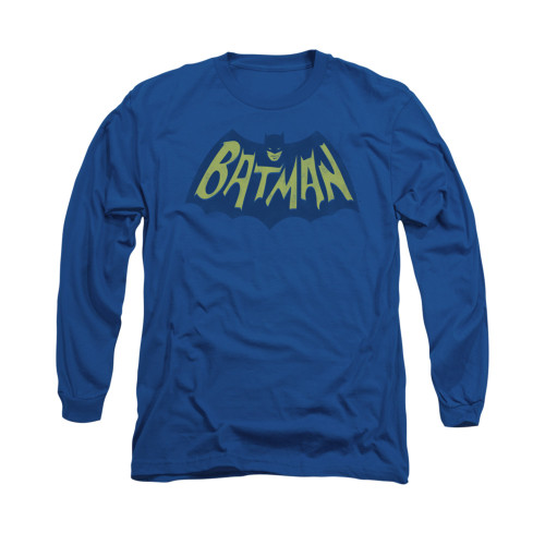 Image for Batman Long Sleeve Shirt - Show Bat Logo
