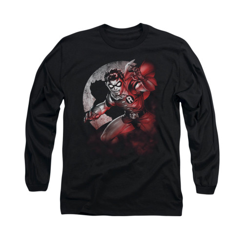 Image for Batman Long Sleeve Shirt - Robin Spotlight