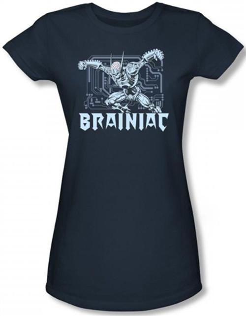 Image for Brainiac Girls Shirt