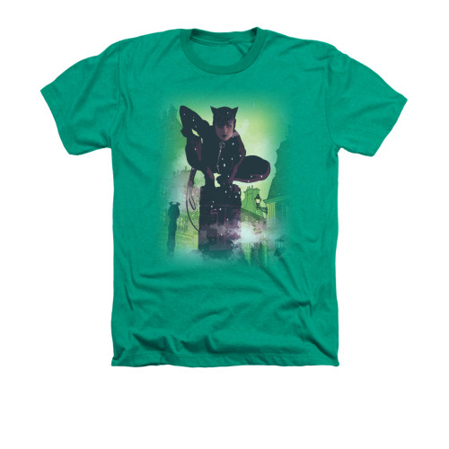Batman Catwoman Here Kitty Kitty DC Comics Junior V Neck T Shirt