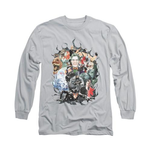 Image for Batman Long Sleeve Shirt - Cape Of Villians