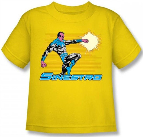 Image for Sinestro Kid's T-Shirt