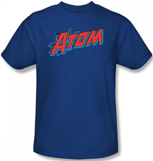 Image Closeup for The Atom Logo T-Shirt