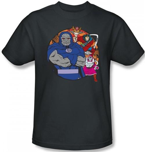 Image Closeup for Darkseid Apokolips Represent T-Shirt