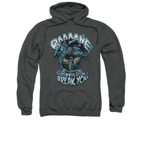 Image for Batman Hoodie - Bane Will Break You