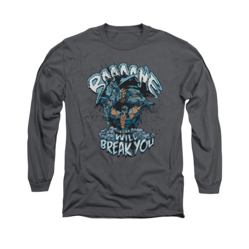 Image for Batman Long Sleeve Shirt - Bane Will Break You