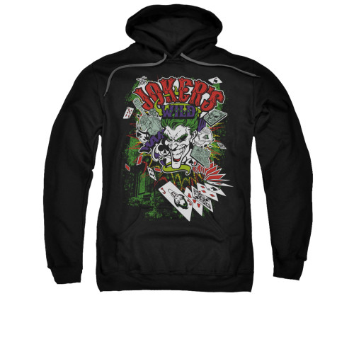 Image for Batman Hoodie - Jokers Wild