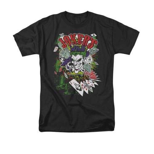 Jokers Wild Adult Work Shirt Batman