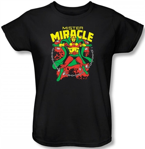 Image for Mr. Miracle Woman's T-Shirt