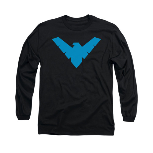 Image for Batman Long Sleeve Shirt - Nightwing Symbol