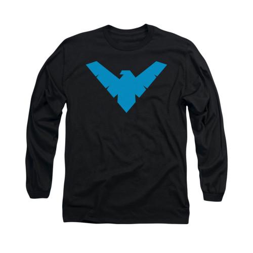Image for Batman Long Sleeve Shirt - Nightwing Symbol
