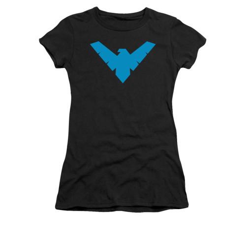 Image for Batman Girls T-Shirt - Nightwing Symbol
