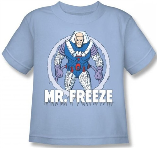 Image for Mr. Freeze Kid's T-Shirt DCO321-KT