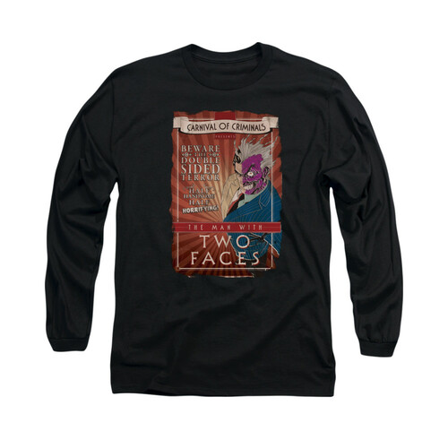 Image for Batman Long Sleeve Shirt - Two Faces