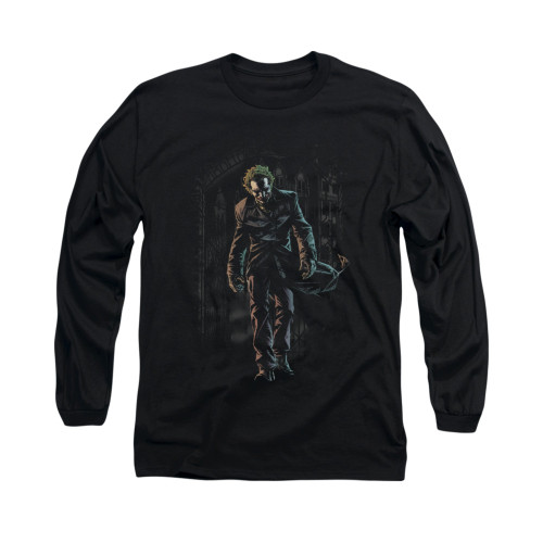 Image for Batman Long Sleeve Shirt - Joker Leaves Arkham