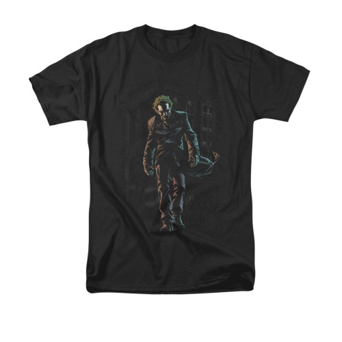 Batman T-Shirt - Joker Leaves Arkham