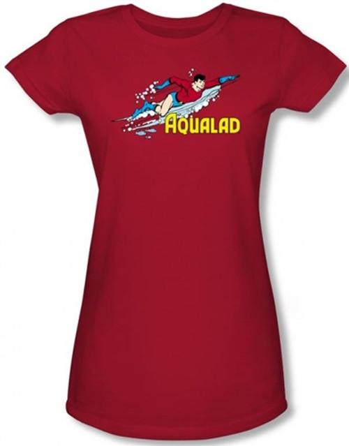 Image for Aqualad Girls Shirt
