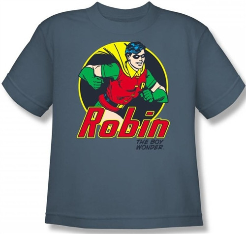 Image for Robin Youth T-Shirt - the Boy Wonder