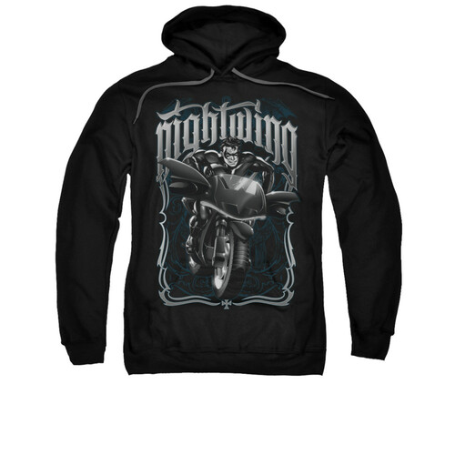 Image for Batman Hoodie - Nightwing Biker