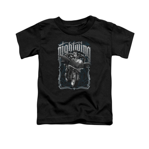 Image for Batman Toddler T-Shirt - Nightwing Biker