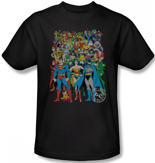 Image Closeup for DC Original Universe T-Shirt