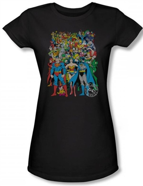 Image for DC Original Universe Girls Shirt