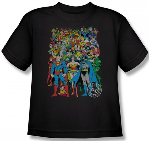 Image for DC Original Universe Youth T-Shirt