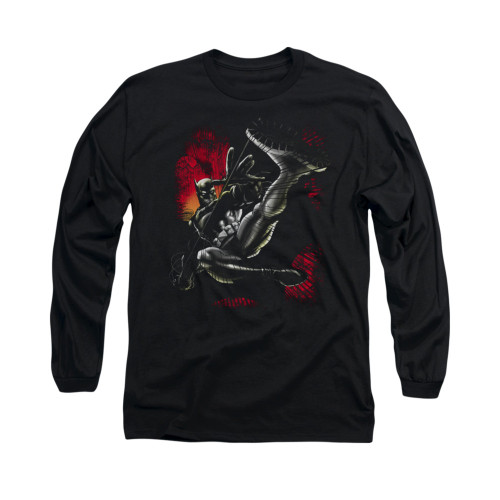 Image for Batman Long Sleeve Shirt - Kick Swing