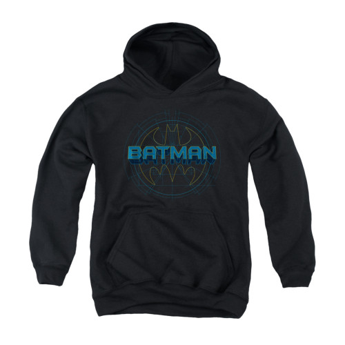 Image for Batman Youth Hoodie - Bat Tech Logo