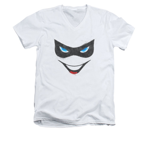 Image for Batman V Neck T-Shirt - Harley Face